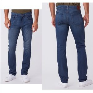 PAIGE Federal Slim Straight Jeans - Blakely